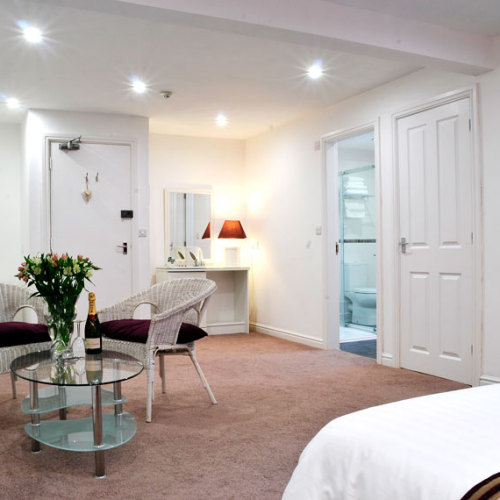 Windermere Hotel bedroom