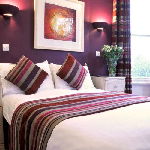 St John's Lodge bedroom